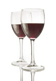 Red Wine for Two Stock Photos