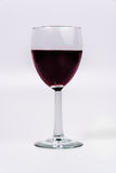 Red Wine in a wine glass. Wine Glass with red wine royalty free stock photo