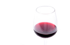 Red wine in a wineglass Royalty Free Stock Photos