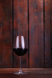 Red wine on wood Stock Photos