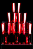 Red wineglasses Royalty Free Stock Photography