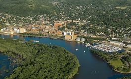 Red Wing, Minnesota - Aerial stock images