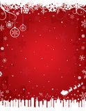 Red Winter Background royalty free stock photography