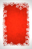 Red winter background. Useful as Christmas background with space for text or mage stock illustration