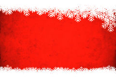 Red winter background. Useful as Christmas background with space for text or mage royalty free illustration