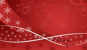 Red winter background. Illustration of red winter background Stock Image