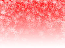 Red winter background Stock Images