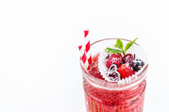 Red winter drink Royalty Free Stock Photos