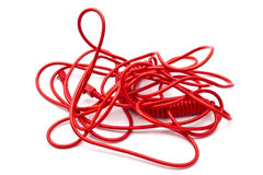 Red wire Stock Photography