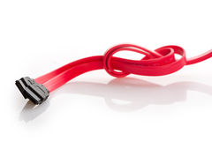 Red wire Royalty Free Stock Images