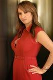 red woman Стоковая Фотография