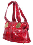 Red woman bag Stock Photography