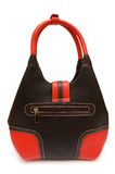 Red woman bag isolated Stock Image