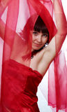 Red women Royalty Free Stock Images