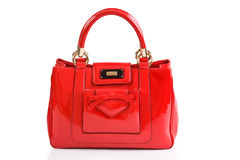 Red women bag Stock Image