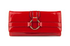 Red women bag Royalty Free Stock Photography