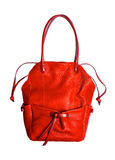 Red women bag isolated Royalty Free Stock Images