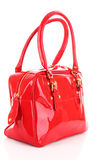 Red women bag isolated Stock Image