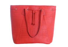 Red women bag Royalty Free Stock Photo
