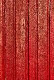 Red wood. Red boards shown in detail royalty free stock images