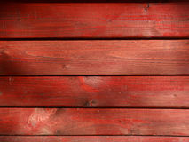 Red wood background. Red boards connected as a wall Stock Photography