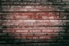 Red wood backgrounds. Old red wood texture backgrounds stock photo