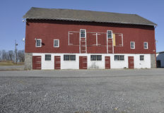 Red wood barn royalty free stock photos