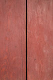 Red wood board wall Royalty Free Stock Photo