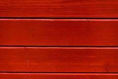 Red wood boards background structure Royalty Free Stock Images