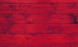 Red wood grain planks. Rustic red wooden planks with wood grain Stock Photo