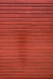 Red Wood Panel. Royalty Free Stock Image