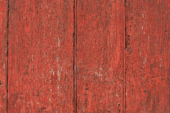 Red wood panel Stock Images