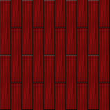 Red wood parquet Royalty Free Stock Images