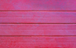 Red wood plank Royalty Free Stock Photos