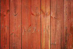 Red wood planks Royalty Free Stock Photo