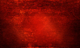 Red wood rotten texture grunge and abrasion on lighting for background Stock Photography