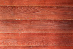 Red wood texture background Royalty Free Stock Image