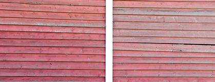 Red wood texture background Stock Image