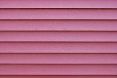 Red Wood Wall. Red wall made of horizontal wood planks Royalty Free Stock Photo