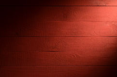 Red wooden background close up.  Stock Images
