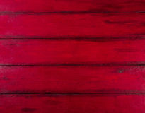 Red wooden background with high resolution. Top view Copy space Stock Photography