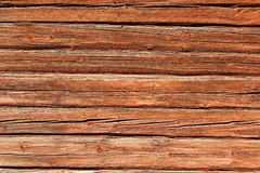 Red wooden background. Background of red painted wooden boards Royalty Free Stock Photos