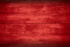 Red wooden background Stock Photography