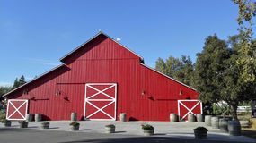 Red Wooden Barn, Royalty Free Stock Image