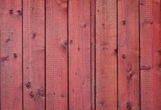Red wooden boards Royalty Free Stock Images