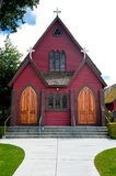 Red Wooden Cathedral Royalty Free Stock Photo