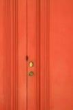 Red Wooden Door Royalty Free Stock Image