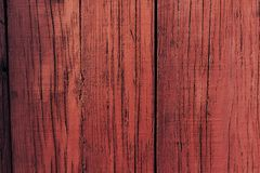 Red wooden door. Wood background texture. royalty free stock photography