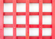 Red wooden fence backgroubd Stock Image
