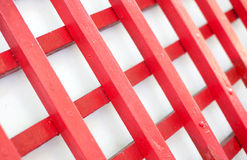 Red wooden fence background Stock Image